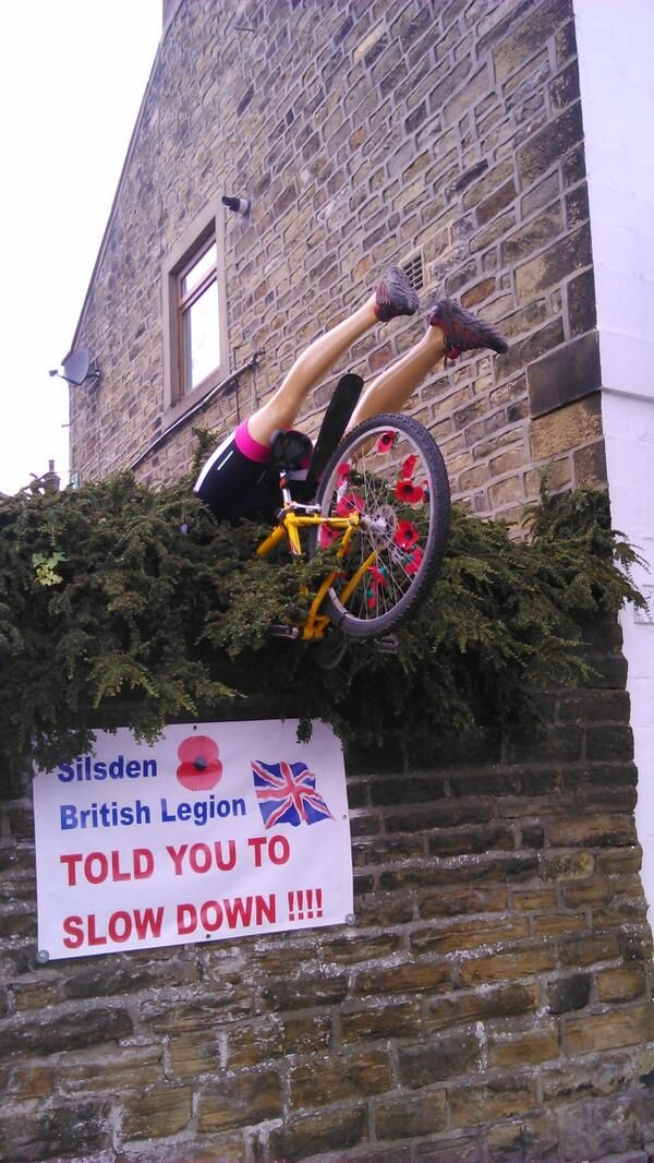 29 Brilliantly Yorkshire Ways To Welcome The Tour De France (Yorkshire stage, July 2014)  Please follow us @ http://www.pinterest.com/wocycling