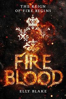 Welcome: Waiting on Wednesday: Fireblood  #frostblood #elly blake #new release