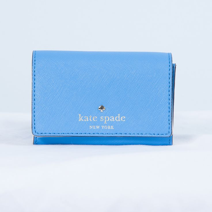 Just in! Kate Spade Christ... Check it out here! http://focusonlifeapparel.com/products/kate-spade-christine-mikas-pond-small-wallet?utm_campaign=social_autopilot&utm_source=pin&utm_medium=pin