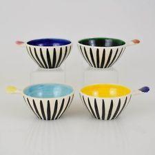 AMB BOYD & JOHN PERCEVAL Set of 1950's ramekins - Glorious colours & shapes