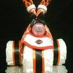 Nothing says a bigger congratulation than this huge 4-Tier Diaper Cake. With this cake you get everything from teethers to toys. Make this the center of you shower. Whats Included: 135-Swaddler Diapers J&J Travel Pack J&J Shampoo Baby Bottle 1-Wrist Rattle 1-Full Pack Of Link-A-Doos 1-Frog Carseat Hanger 2- Carseat Hangers Related Post Buy Monkey …
