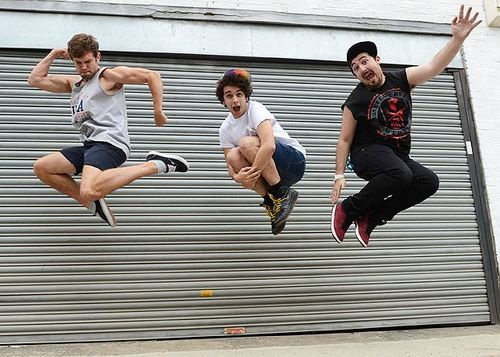 The Midnight Beast. Dru was wearing the shirt the first time I met him!
