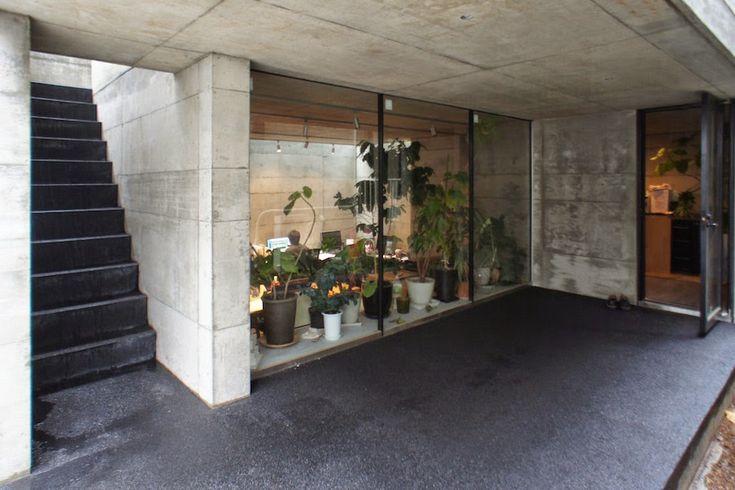 japan-architects.com: 新関謙一郎による世田谷の住宅「WKB」