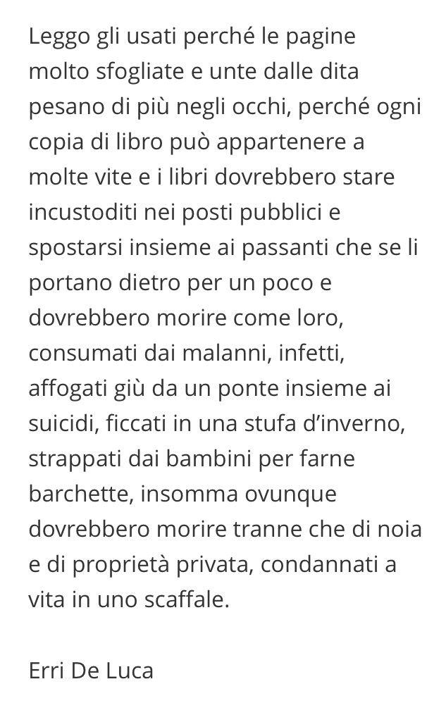 Libri usati - Erri De Luca