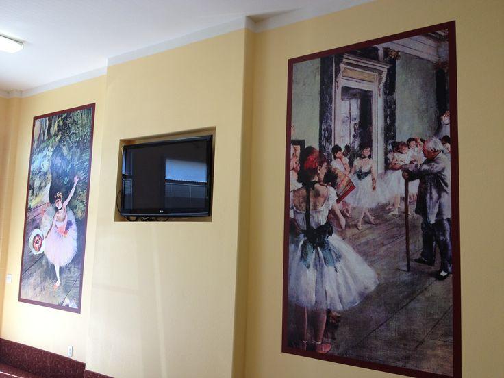 ABDA San Diego #WallMural #Ballet #SpeedproImaging · Wall MuralsSan Diego Ballet