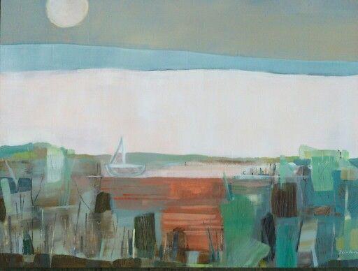 """Joanna Golon,  60x80 """"Boat"""""""