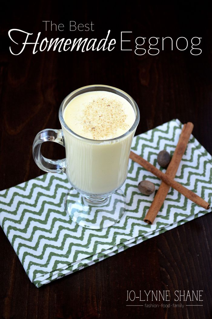 This is seriously the BEST Homemade Eggnog. There is nothing that says Christmas quite like a frothy glass of eggnog. Spread yuletide cheer with this traditional eggnog recipe.