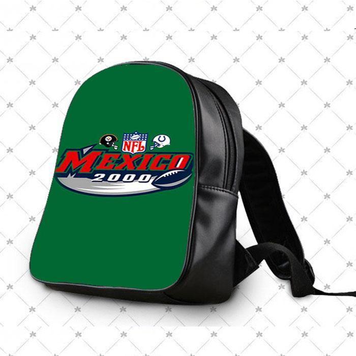 Nfl Mexico 2000 Green School Bag Backpacks