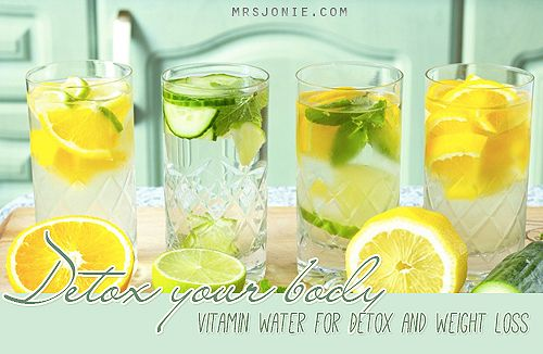 it's a great start if you are trying to lose weight, it's really easy to do and very refreshing.Ingredients: A pitcher of water 1 Lemon (thinly sliced) 1 medium cucumber (thinly sliced) 4-5 chunks ginger (peeled, optional) 4-5 mint leaves (optional) Directions:Add lemon and cucumber slices along with peeled ginger chunks in the pitcher of water and leave overnight. Drink throughout the day by refilling