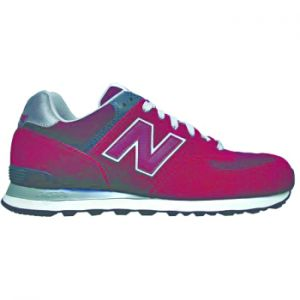 NEW BALANCE M574J TREND SHOES MENS Originally designed for running; the iconic 574 sports a retro silhouette that makes it a must-capture for street style photographers and and a must-buy for sneakerheads. #mensshoes