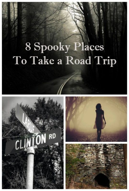 8 Spooky Places to Take a Road Trip This Halloween