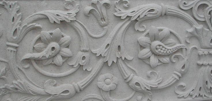 Plastic repairs to decorative #Portlandfacade