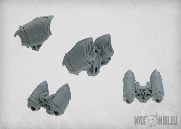 "<p>This kit contains 5 storm talon jump packs cast in high quality resin. Designed to fit 28mm ""heroic"" miniatures. Supplied unpainted.</p>"