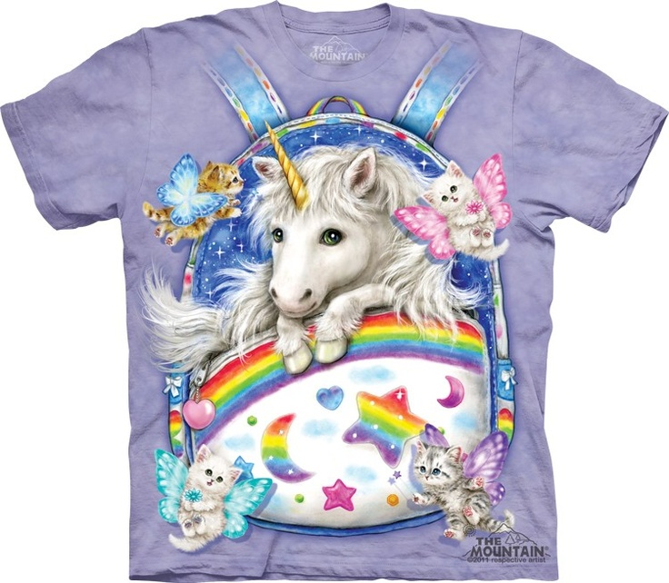 The Mountain Backpack Unicorn @ Epic-Shirts.com - Available at website