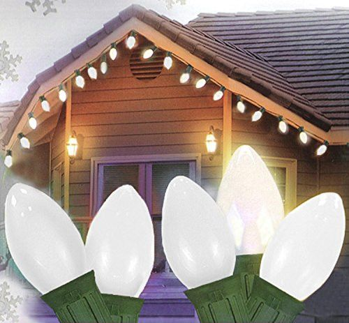17 best ideas about c9 led christmas lights felices pascuas collection 25 ceramic style opaque white led retro style c7 christmas lights green
