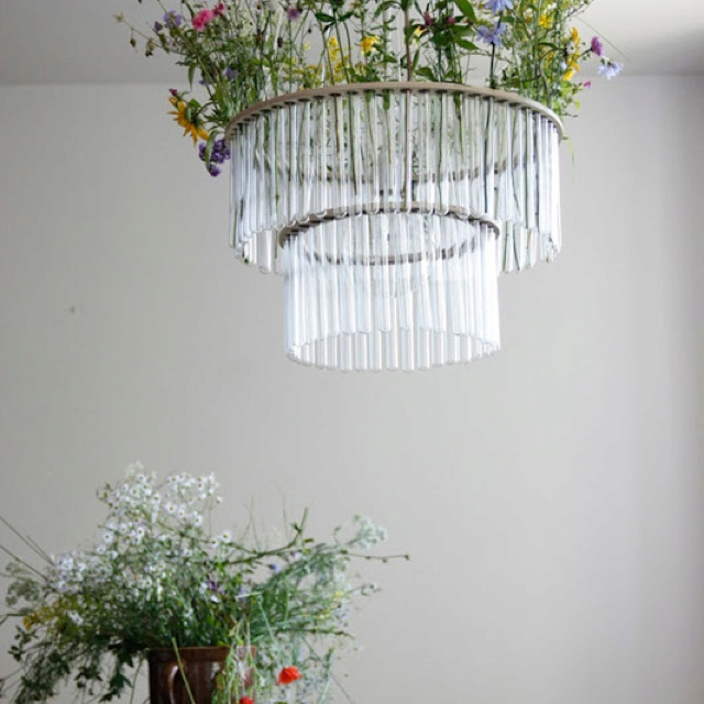 (Test Tube Chandeliers Are So Versatile! Filling Them With Colored Liquid  Is Common   You Could Change The Colors For Themed Parties) Maria S. Double  Test ...