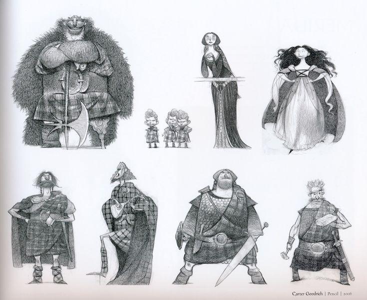 Pixar Character Design Book : Best concept art character design images on pinterest