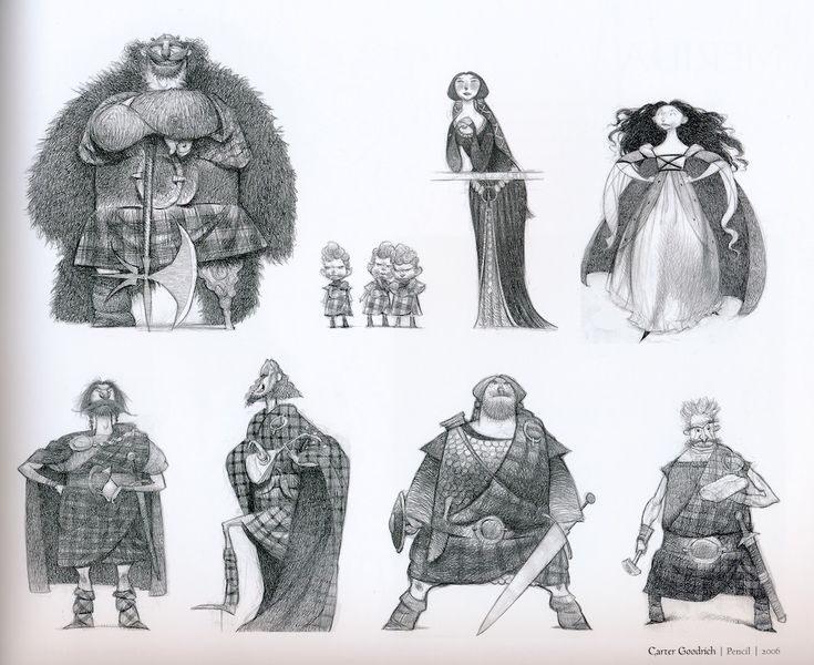 Pixar Post - For The Latest Pixar News: The Art of Brave Book Review