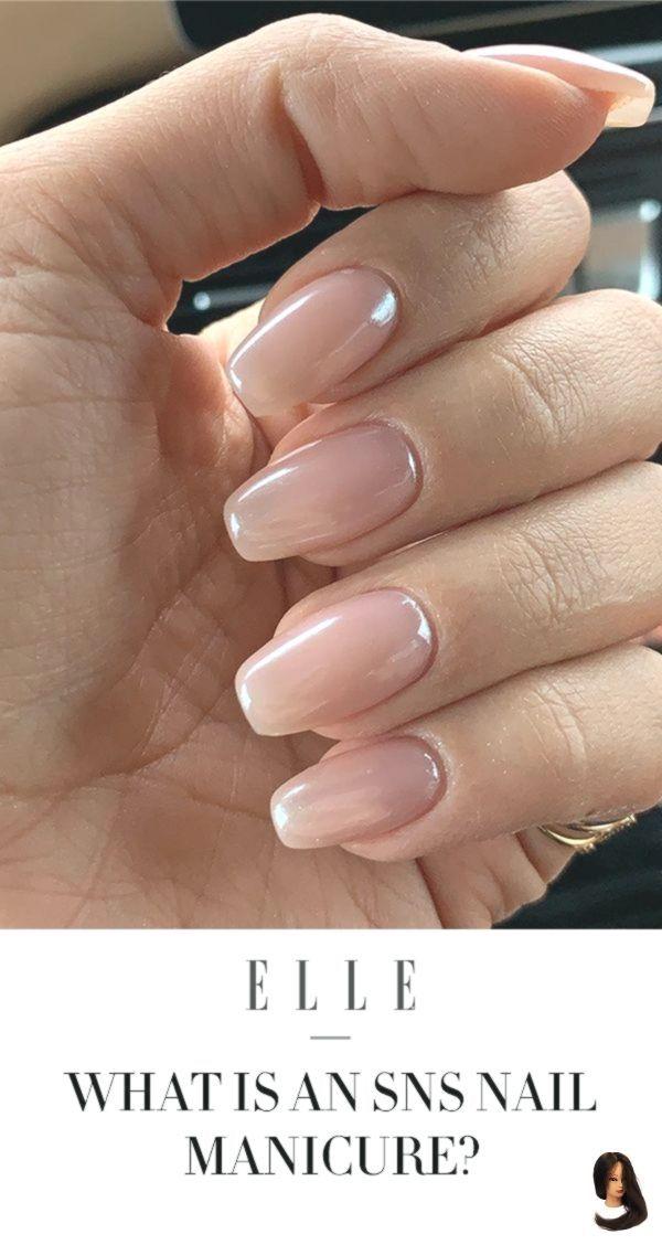 #manicure #Nail #Nail Color sns #Nails #SNS Was ist eine SNS Nail Manicure? – #Mann… – Nails