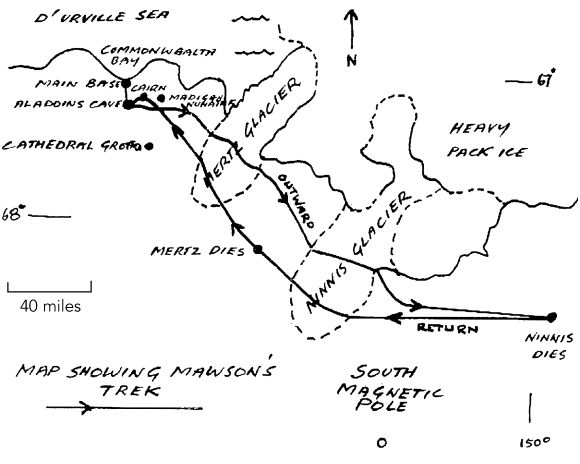 Mawson and Mertz: a re-evaluation of their ill-fated mapping journey during the 1911–1914Australasian Antarctic Expedition   Medical Journal of Australia