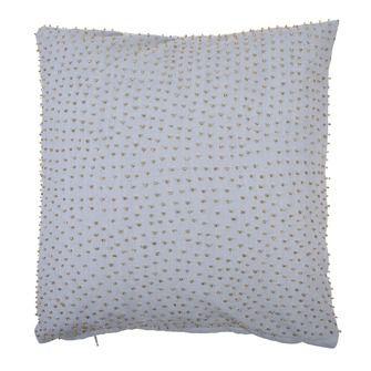 Kussen kralen grijs 45x45 cm, alles voor je klus om je huis & tuin te verfraaien vind je bij KARWEI