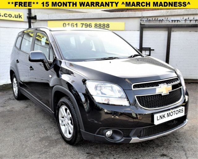 2011 Chevrolet Orlando Lt Automatic In Black Nationwide