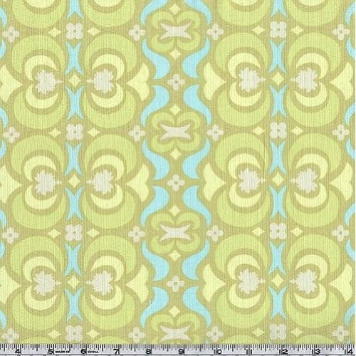 Amy Butler Midwest Modern Garden Maze in Lime by Fabriphoria, $7.50