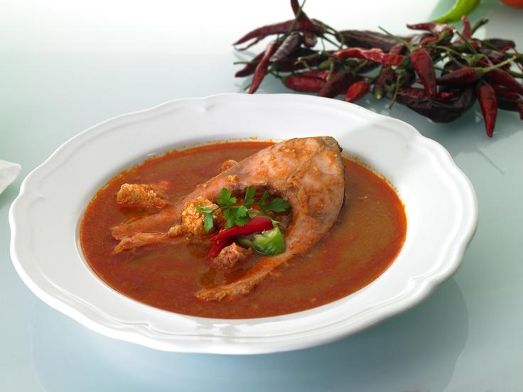 Halászlé - the famous Hungarian fish soup
