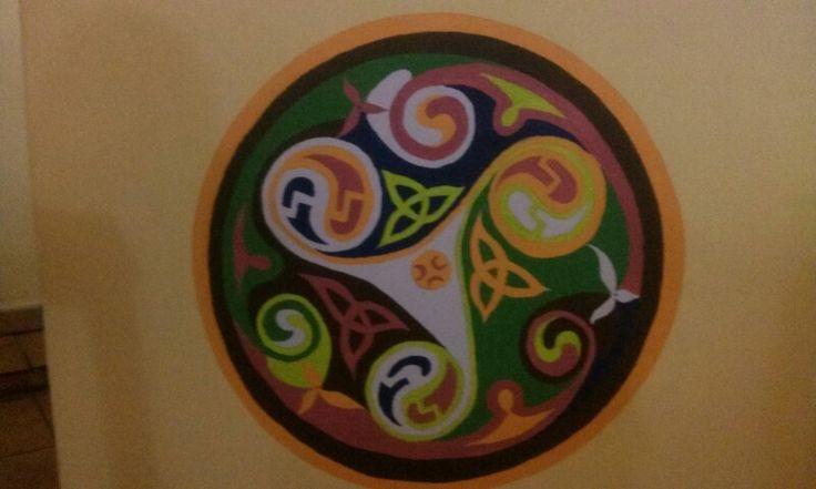 Mandala celta en mi sotano
