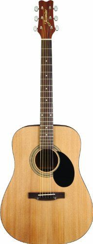 #6: Jasmine S35 Acoustic Guitar Natural Jasmine S35 Acoustic Guitar Natural ranks among the best of the best online products in Musical Instruments  category in USA. Click below to see its Availability and Price in YOUR country.