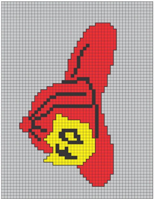 Fireman Sewing Pattern | Crochet Commemorative Fire Fighter Throw