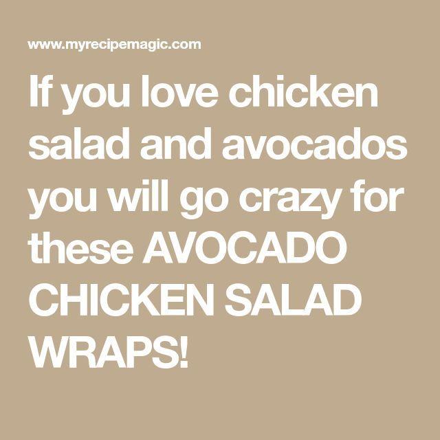 Avocado Chicken Salad Lettuce Wraps – Tastes Better From Scratch