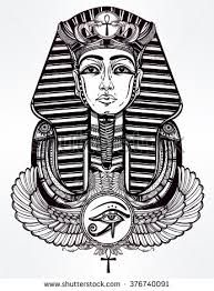 Image result for egyptian pharaoh tattoo designs                                                                                                                                                     More