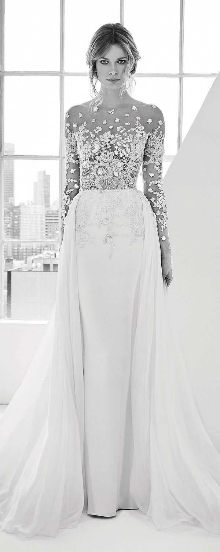 Zuhair Murad Wedding Dresses 2018 / http://www.deerpearlflowers.com/best-wedding-dresses-2018/5/