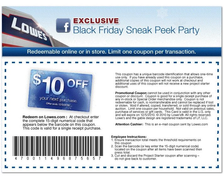Lowes 10 off Printable Coupon - http://www.lowescouponn.com/lowes-10-off-printable-coupon/