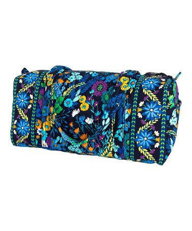 Vera Bradley on $37.99!  Reg. $64!  Another great find on #zulily! Midnight Blues Small Duffel Bag #zulilyfinds