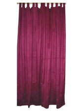Here is vibrant & stunning work of craftsmanship that combines exquisite cotton fabric lovely pair of Red-violet curtains / drapes.Our sari curtains drapes have a texture that creates a subtle luminescence.