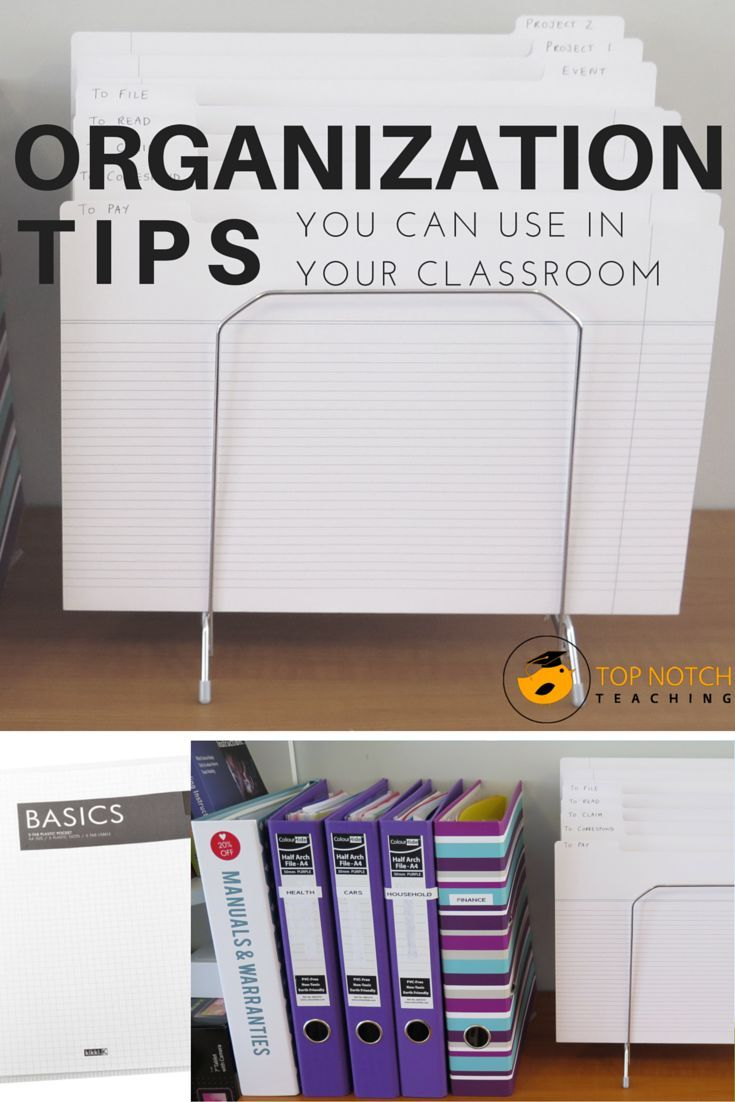 Are you an organized person? Do have systems in place to help you stay organized in your class? Here you'll find classroom organization tips.
