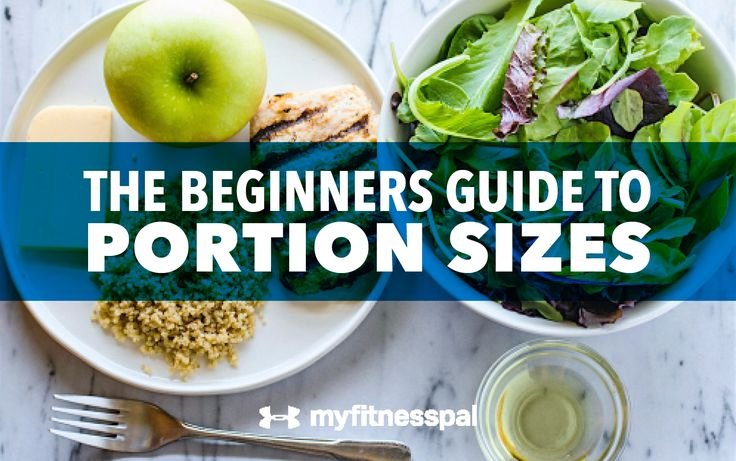 The Beginners Guide to Portion Sizes
