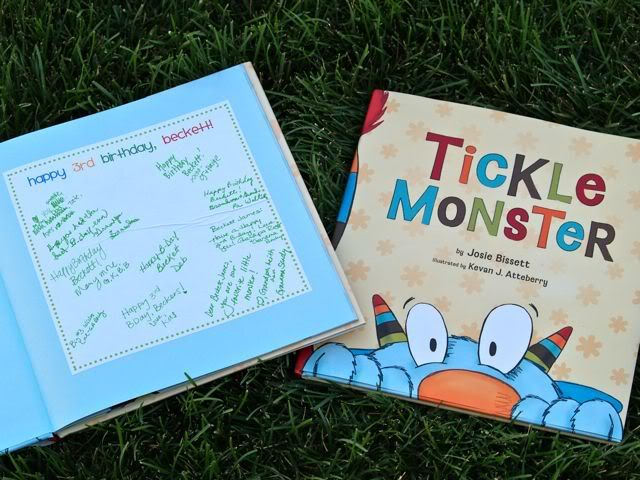 as a guest book!  Gavin First Birthday Ideas  Pinterest ~ 013005_Birthday Party Guest Ideas
