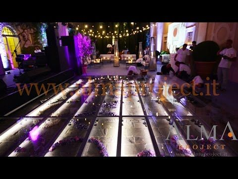 ALMA PROJECT @ Castiglion del Bosco - Wedding service, backline, entertainment & lighting - YouTube
