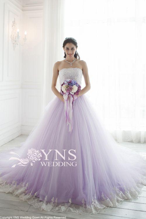 セクシー?ラプンツェル?カラードレスはお花のドレスで決まり!!*パープル編*にて紹介している画像