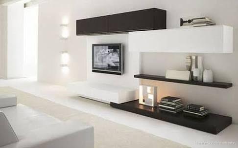 Resultado de imagen para mueble de tv minimalista