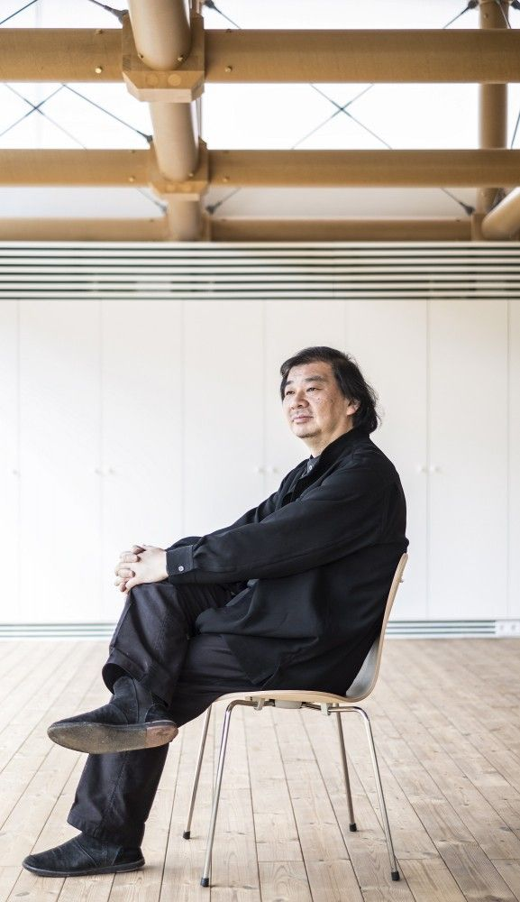 Shigeru Ban, architect, japan  © Fernando Guerra, FG+SG Architectural Photography