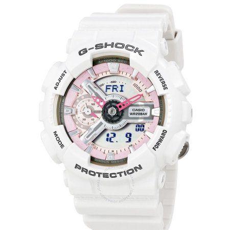 Casio G-Shock Mens Watch GMAS110MP-7ACR, White