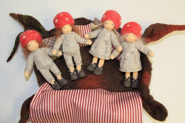 Barbaras Blumenkinder und Puppen Welt: Handpuppen