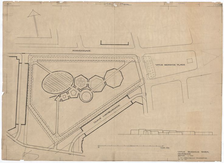 De Geometriske Haver (Den Musikalske Have), Herning. C.T.Sørensen