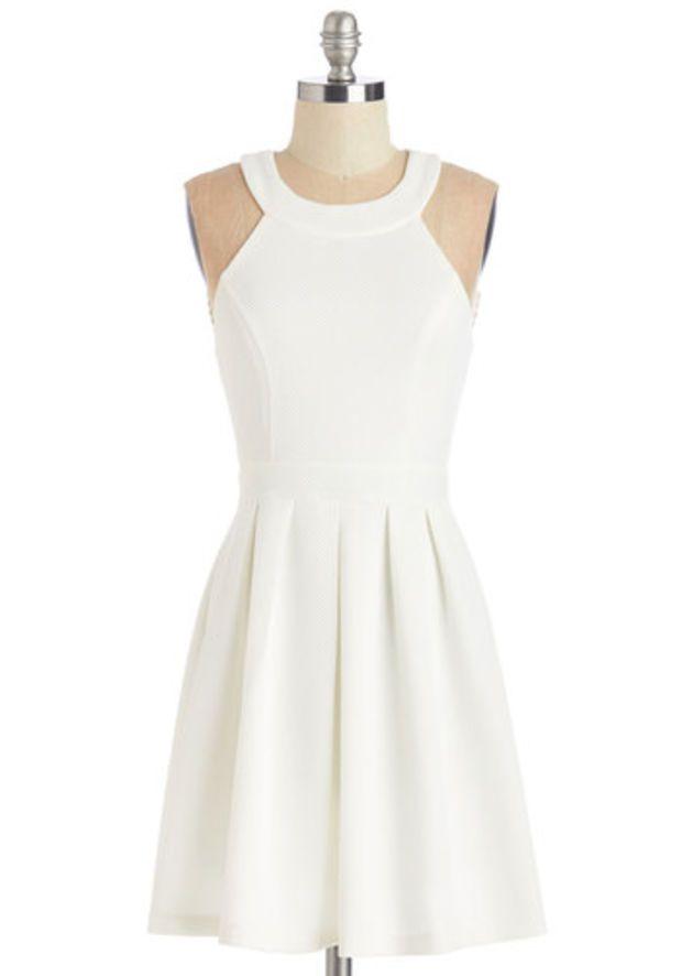 ModCloth Mid-length Sleeveless A-line Mingling With Moxie Dress