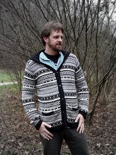 Neville's Deathly Hallows pt 2 sweater is truly epic. I knit one up for my husband and wrote up excessive pattern notes along the way. With the help of the Knitter's Handy Book of Sweater Patterns, I have a pattern for others to use.