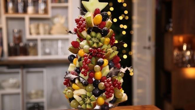 Rudolph's tip: Fruitkerstboom - recept | 24Kitchen